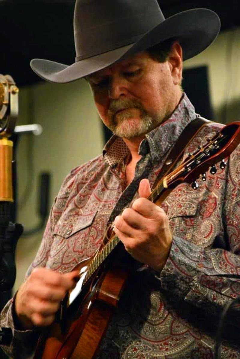 Don with his Sorenson FX mandolin